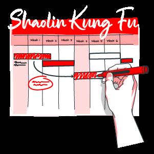 Kung Fu Calendar