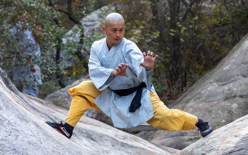 Chinese Shaolin Warrior Monk Wei Shifu