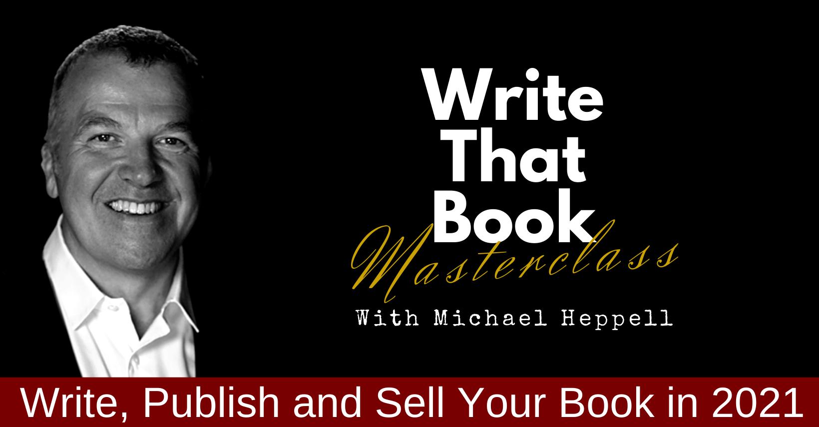 Write That Book Masterclass Summer 2021