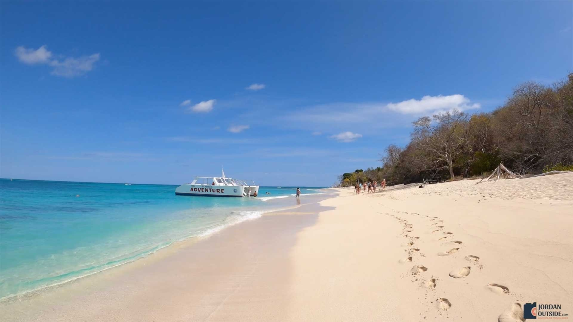 Go past Isaac's Bay Beach to get to Jack's Bay Beach, St. Croix