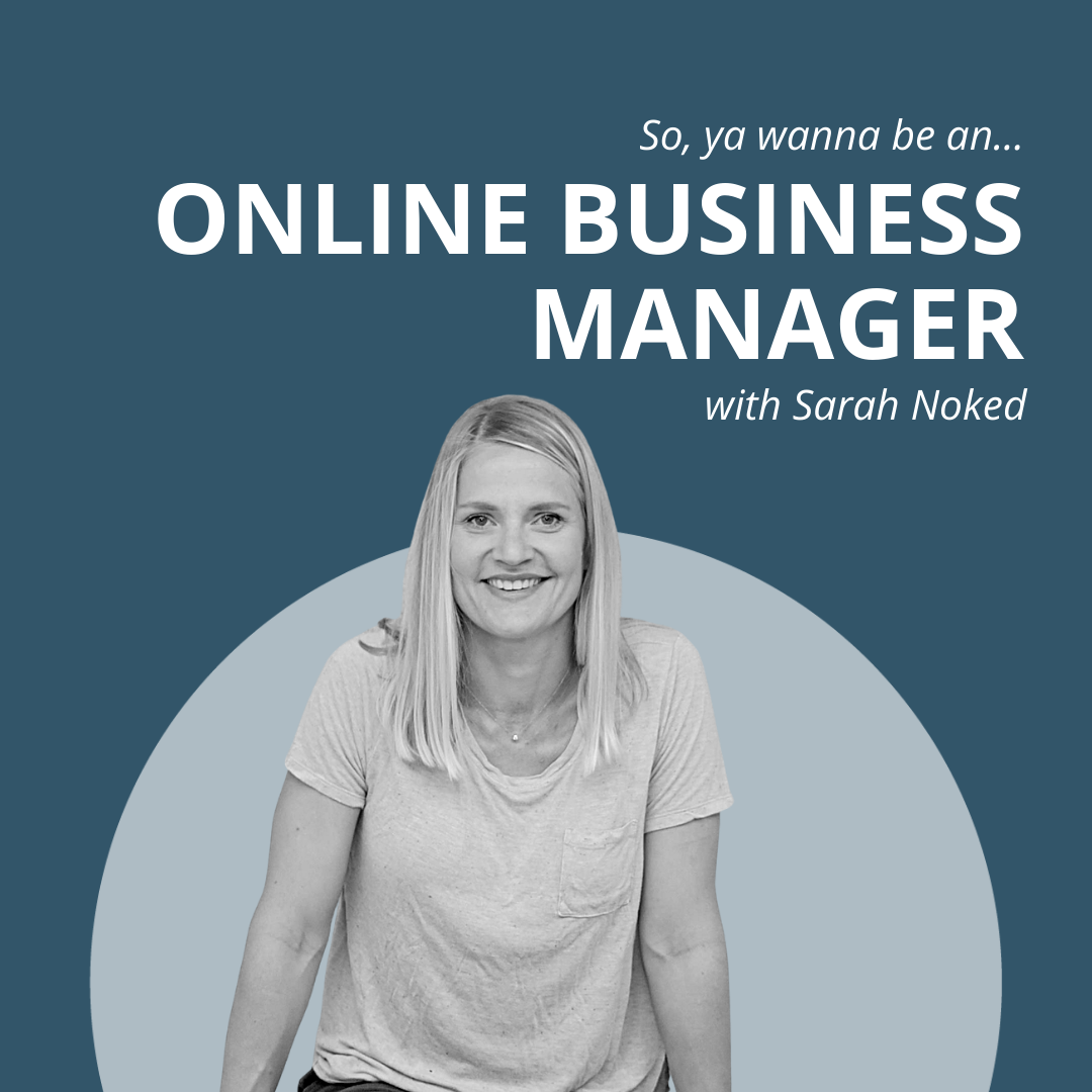 what's it like to be an online business manager with sarah noked