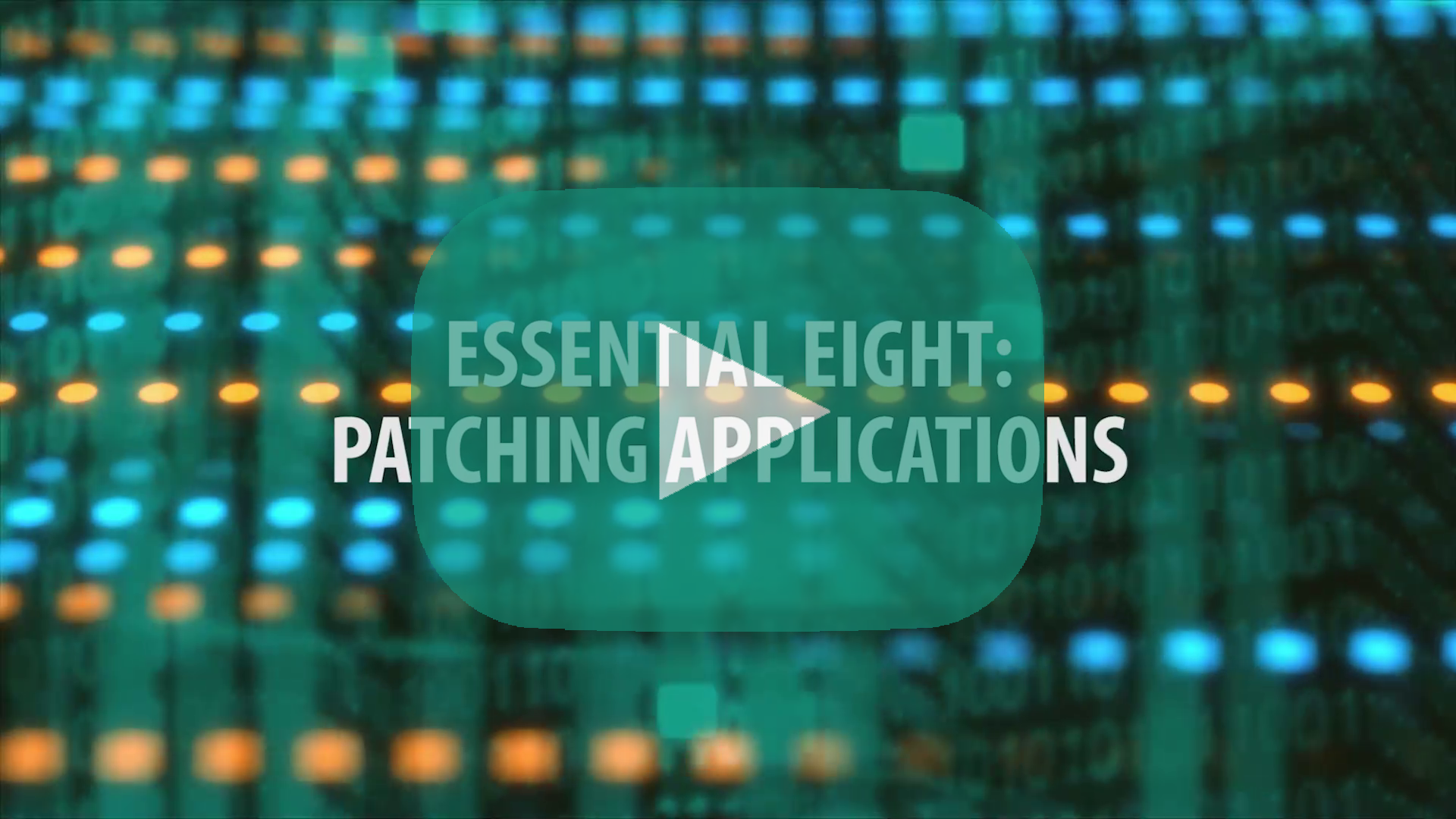 E8 Topic 4: Patch Applications