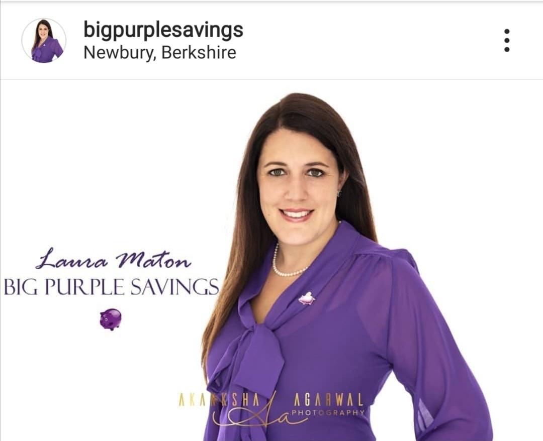 Laura Maton Big Purple Savings