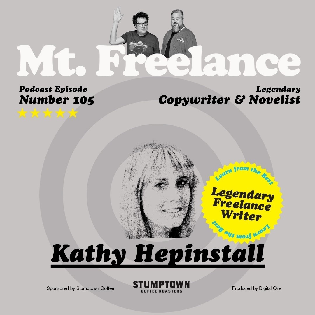 Episode 103 Sue Kim Mt. Freelance Podcast Cover