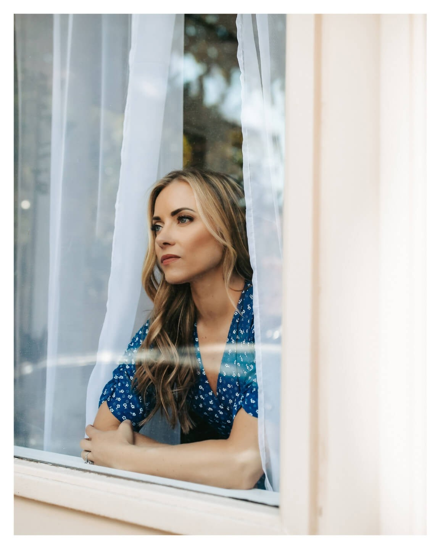Kristen Blake pondering the effects of mold illness.
