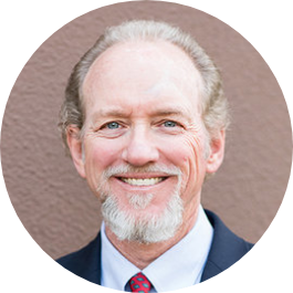 Jim Tarvin does insurance planning and estate planning for physicians