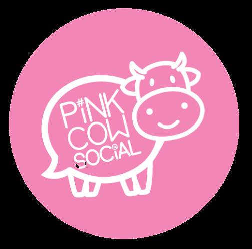 Pink Cow Social Logo