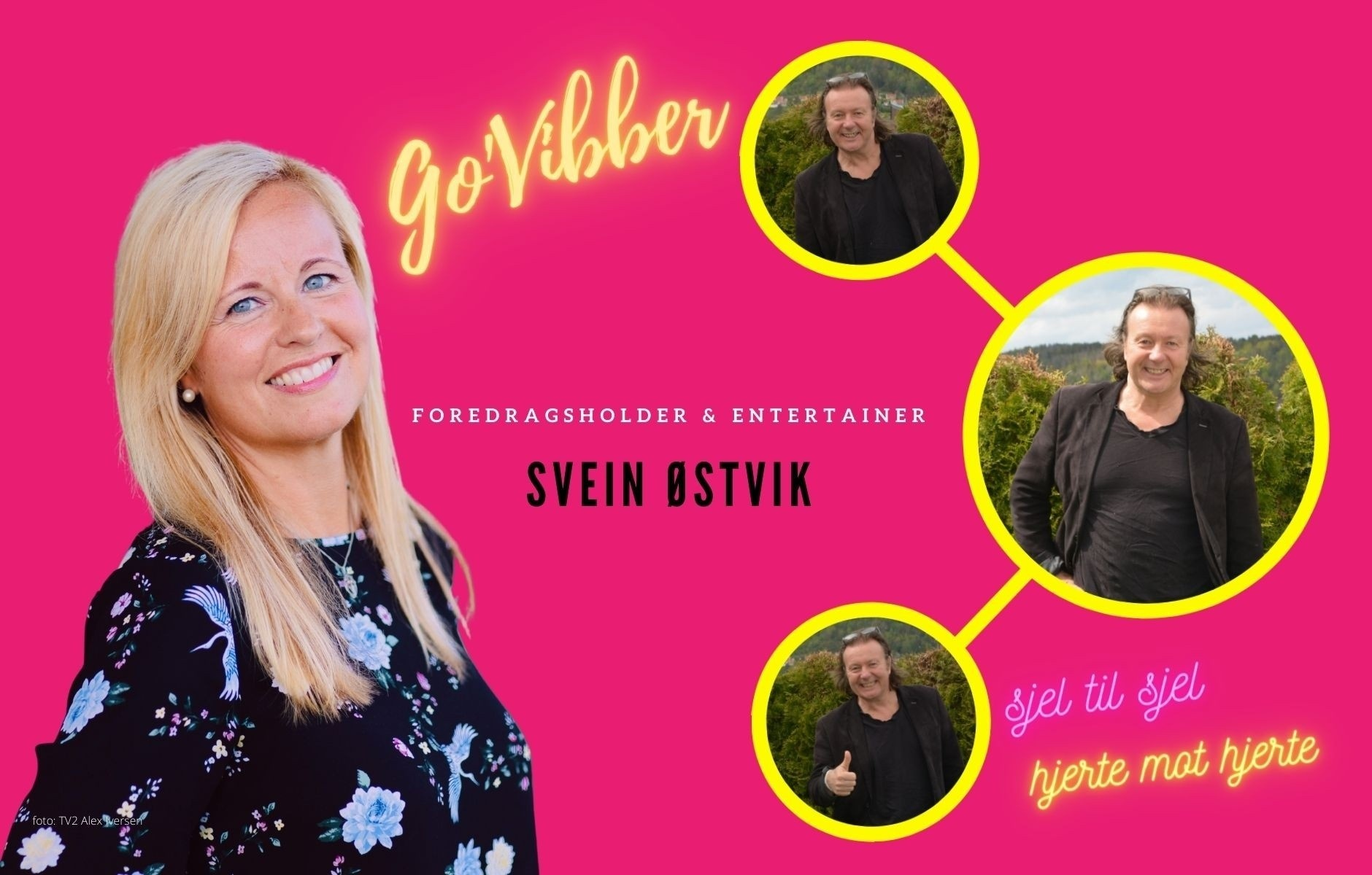 Hva har gitt entertainer Svein Østvik trygghet og styrke til å følge hjerte?