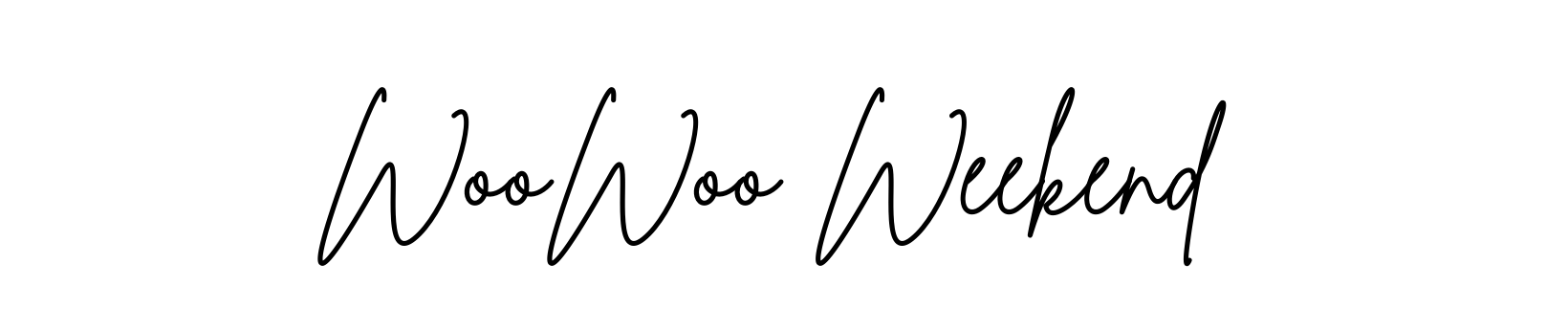WooWoo Weekend workshop