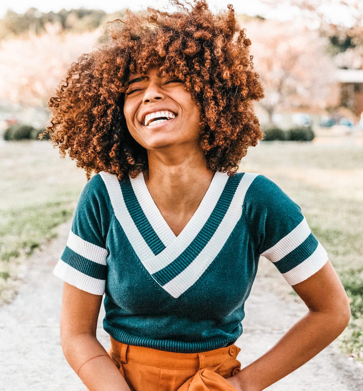 Photo of Happy Woman Smiling