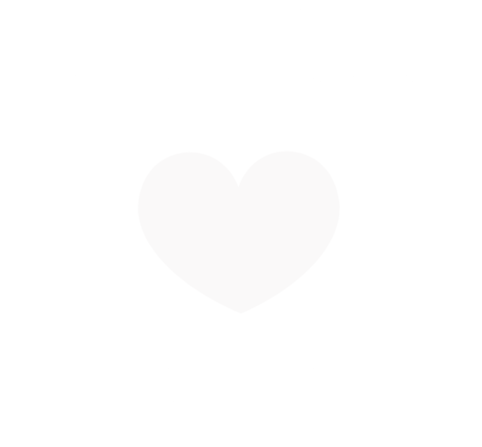 Graphic Image of Risk Free Guarantee Circle with Heart at Center