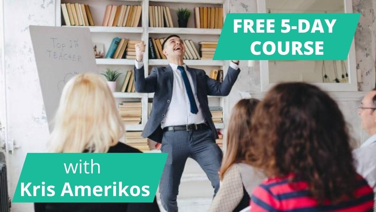 FRE 5-DAY COURSE WITH KRIS AMERIKOS