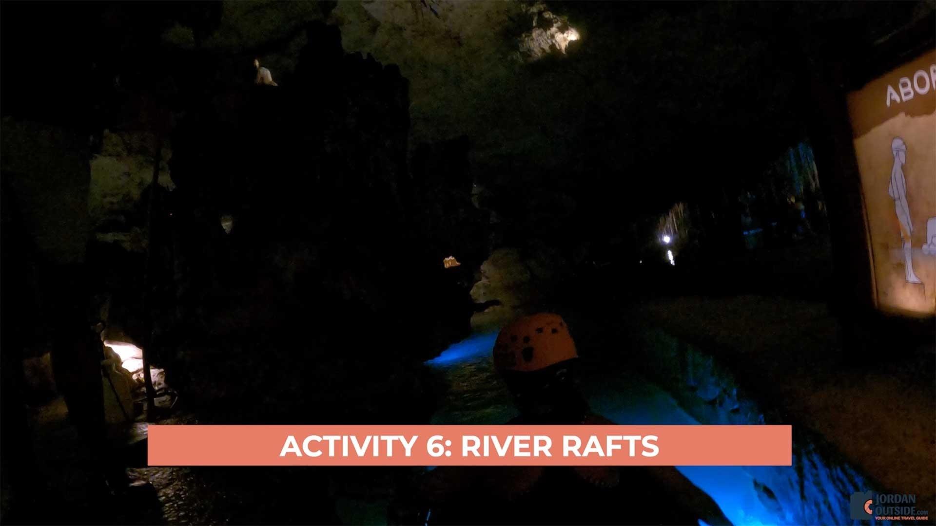 River Raft at Xplor