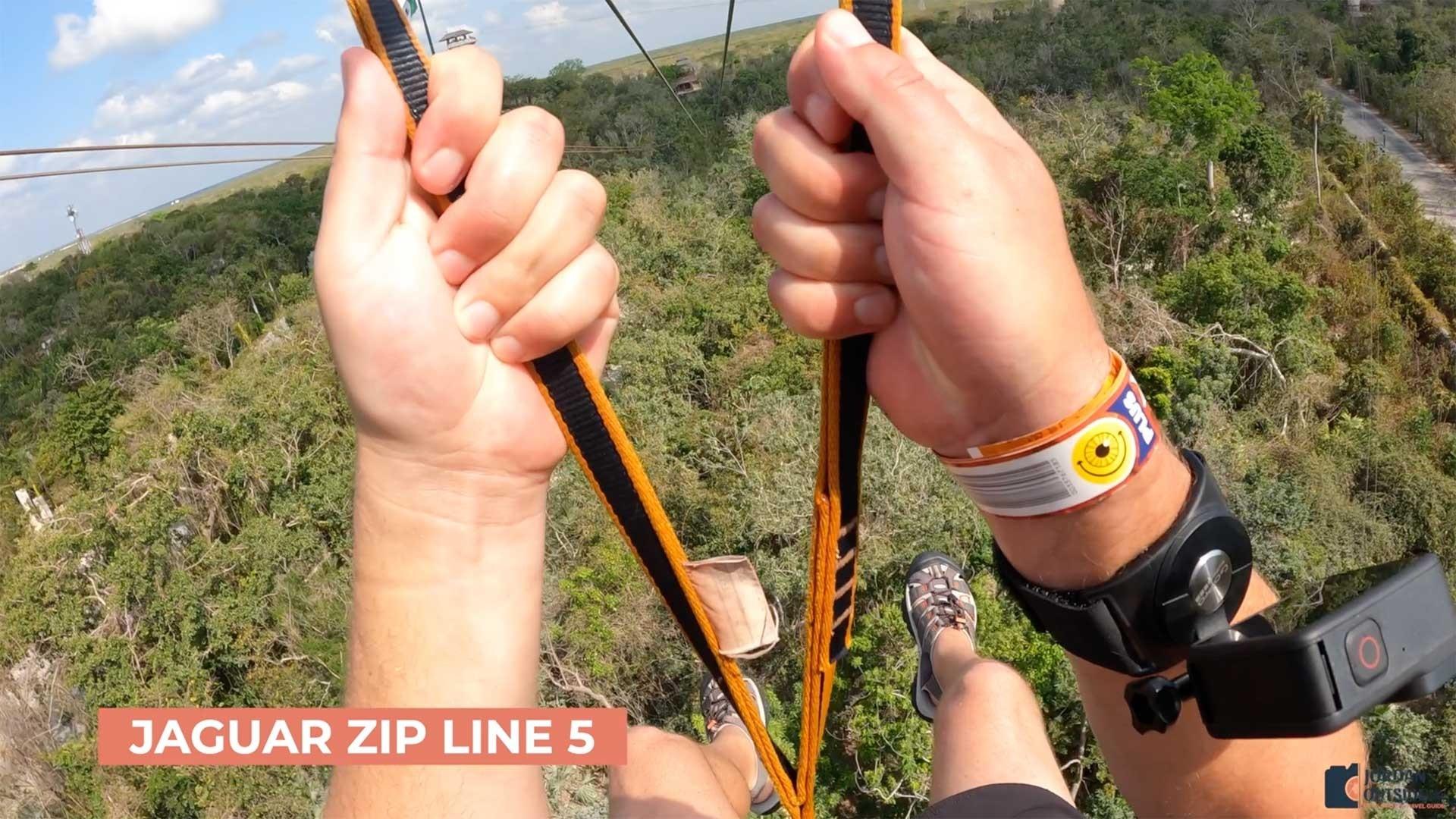 Jaguar Zipline 5 - Xplor Park