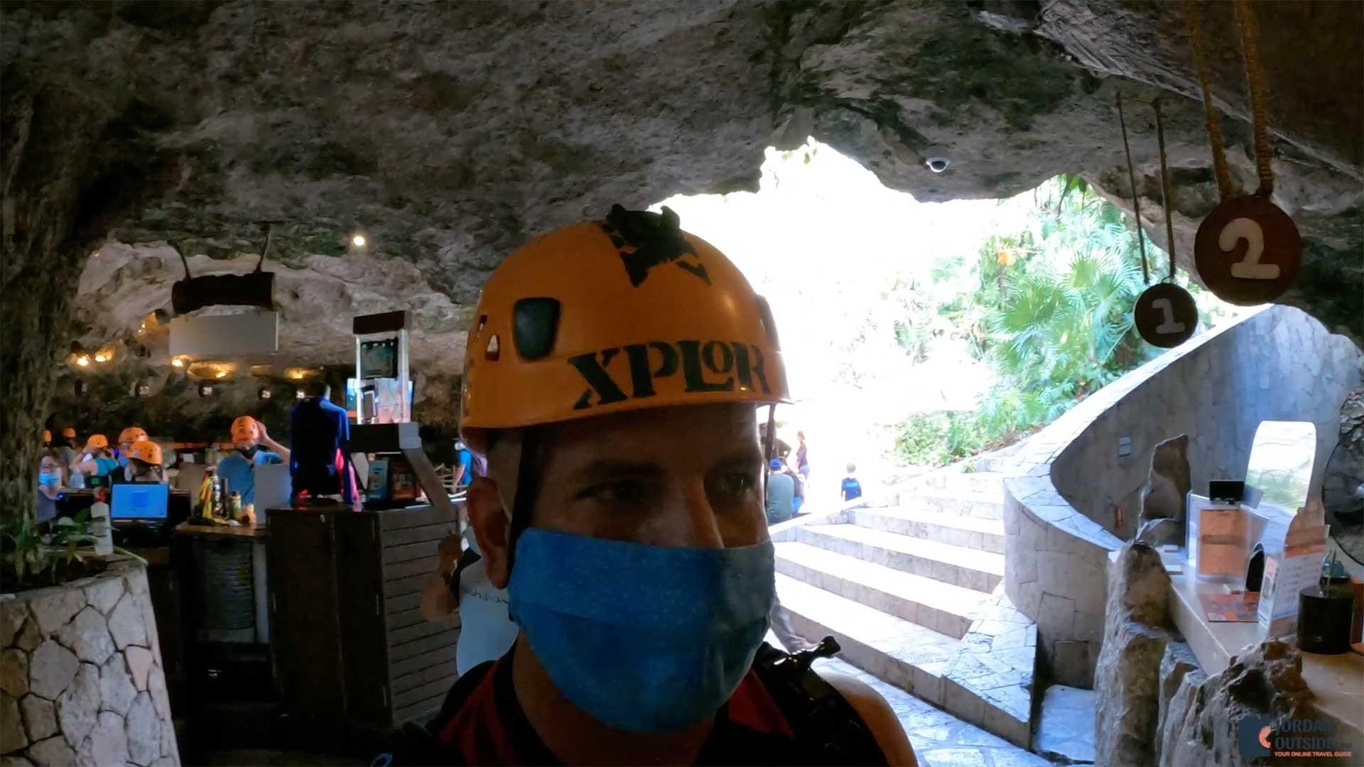 GoPro Helmet Mount at Xplor Park