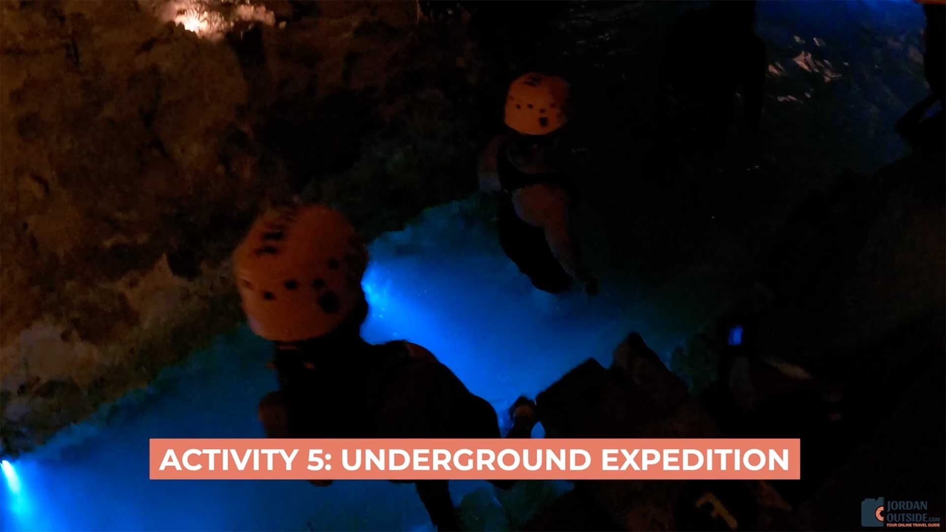 Underground Expedition at Xplor