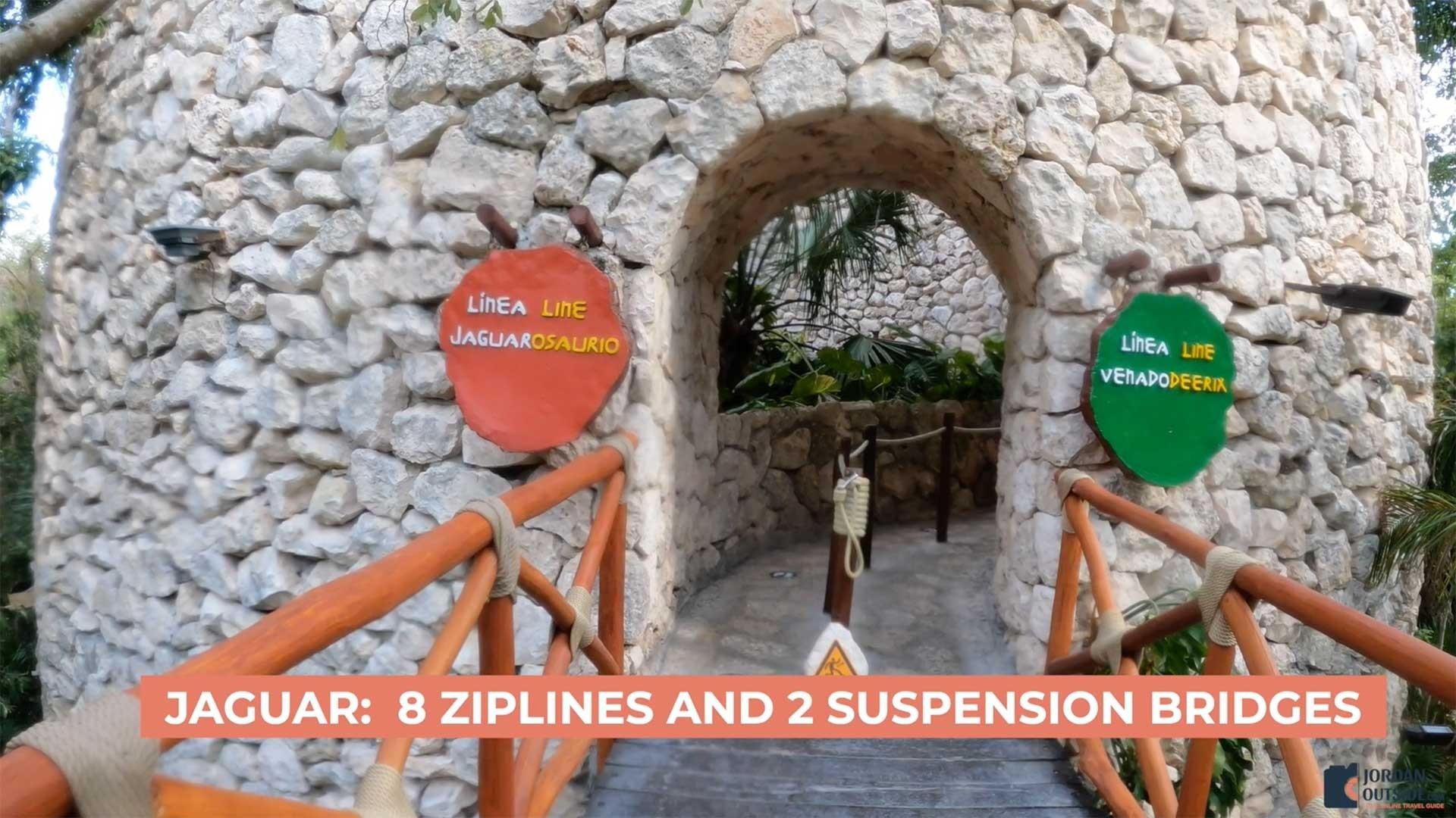 Jaguar Ziplines, Xplor Park