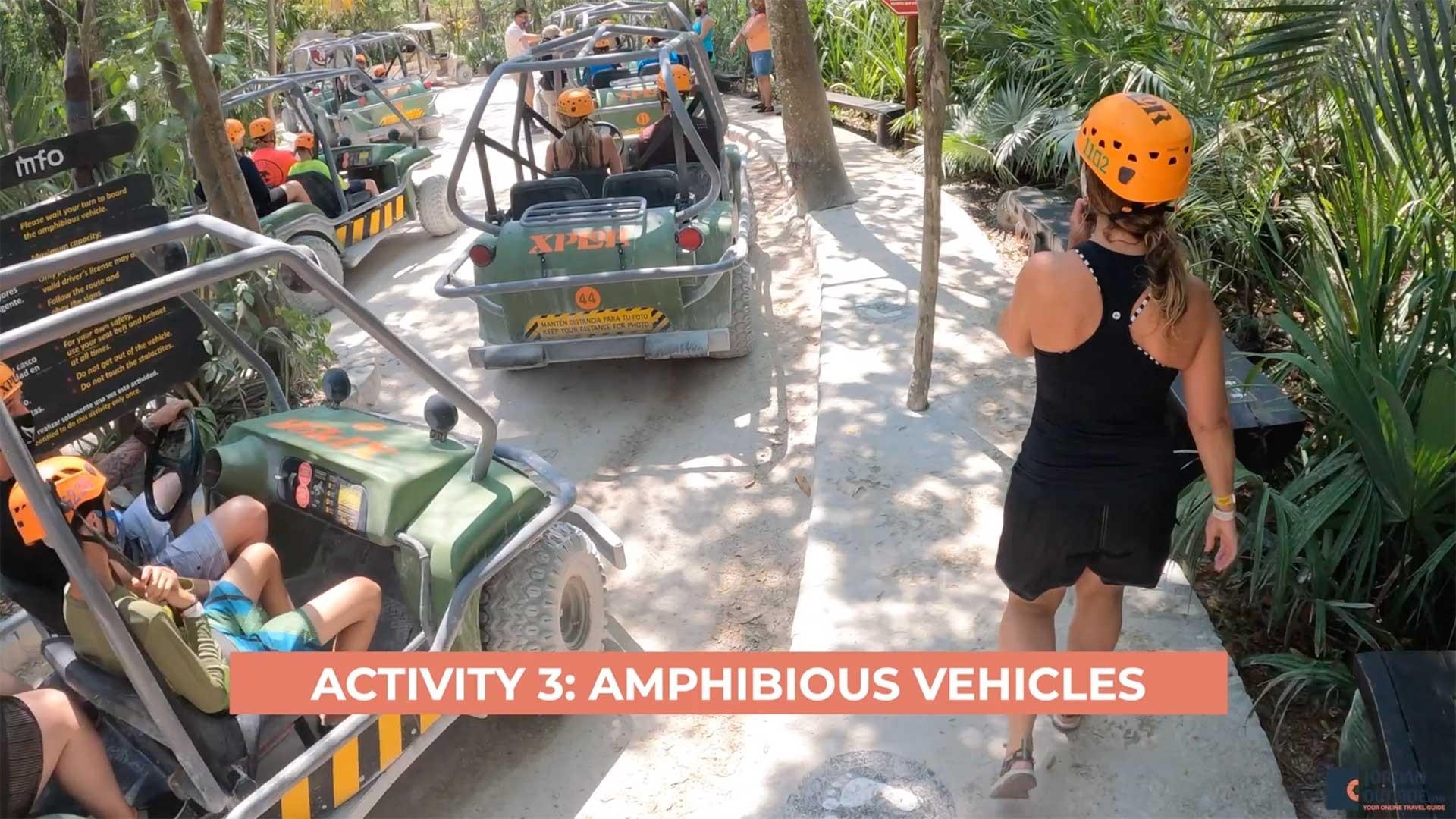 Amphibious Vehicles - Xplor Park