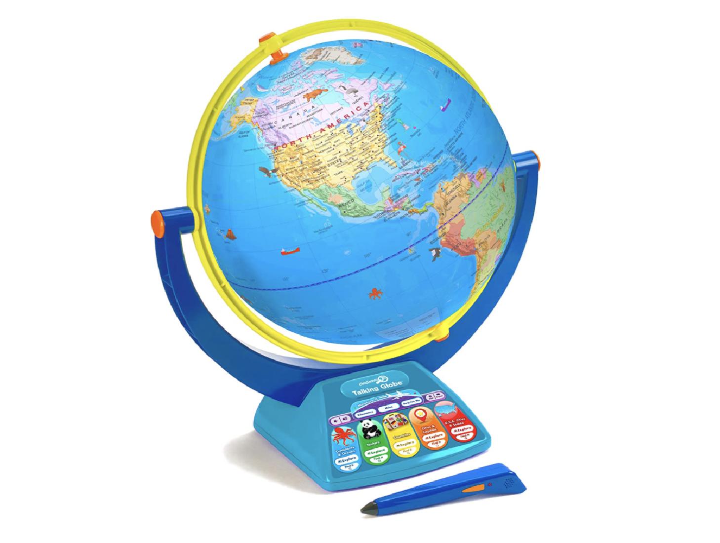 talking globe global learning tool