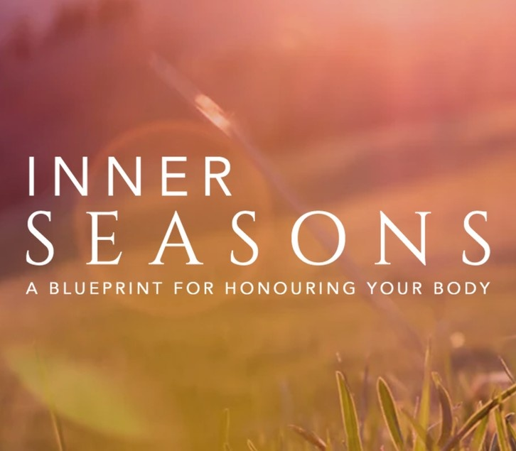 Image displaying course title - inner seasons- a blueprint for honouring your body.
