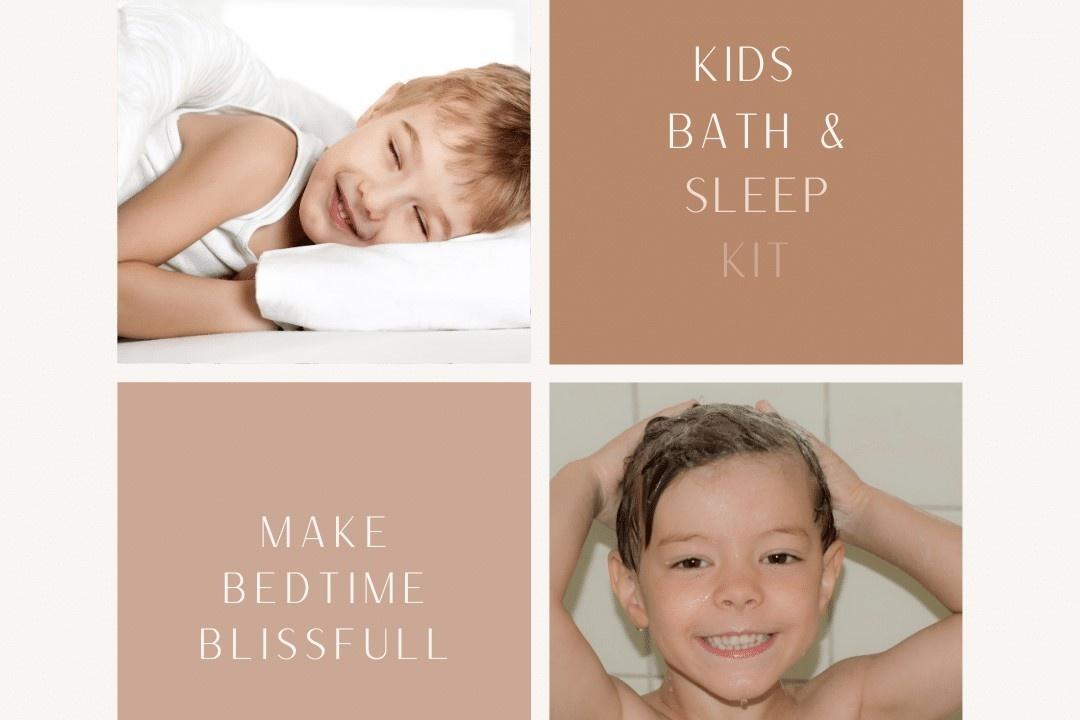 Kids Bath & Sleep Kit - Simply Wellness Co NZ