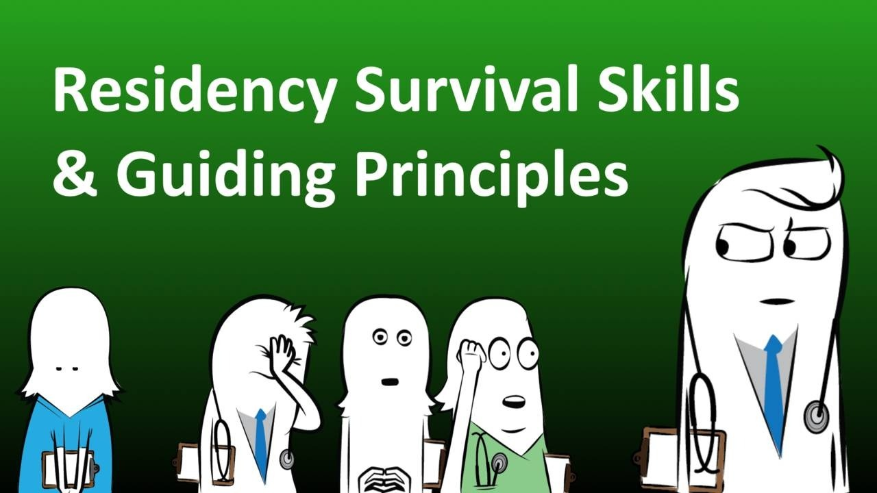 Micro course on how to survive internship and residency