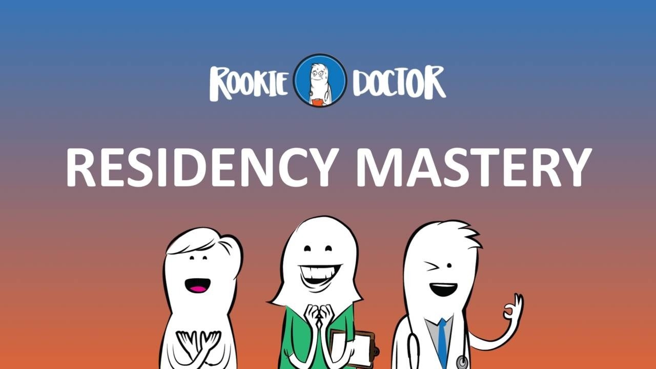 The residency orientation you never had, or will have, until now