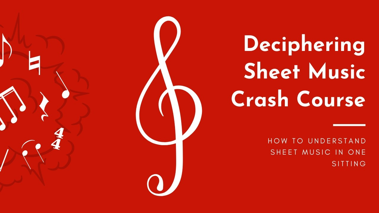 Deciphering Sheet Music Crash Course eBook Free