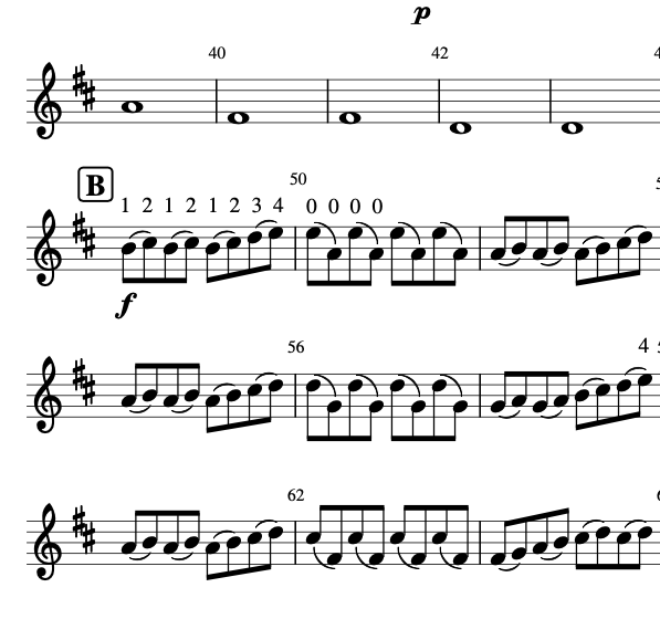 On the Nature of Daylight from movie Arrival for Beginner and Intermediate Violin Sheet Music Free