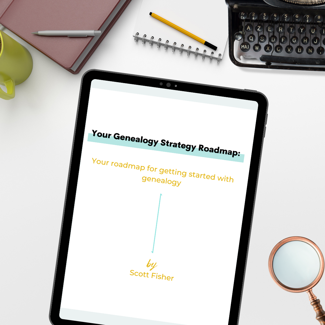 Genealogy Strategy Guide Graphic