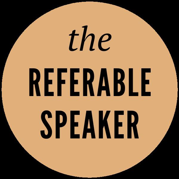 the REFERABLE SPEAKER