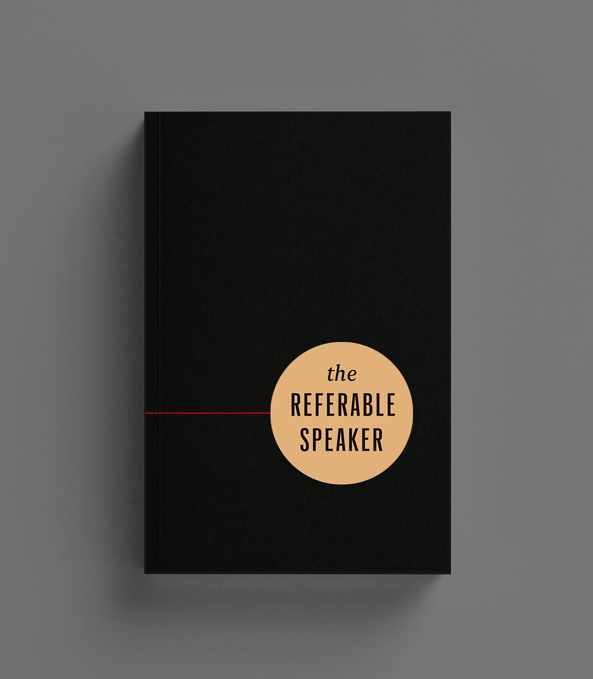 the REFERABLE SPEAKER book