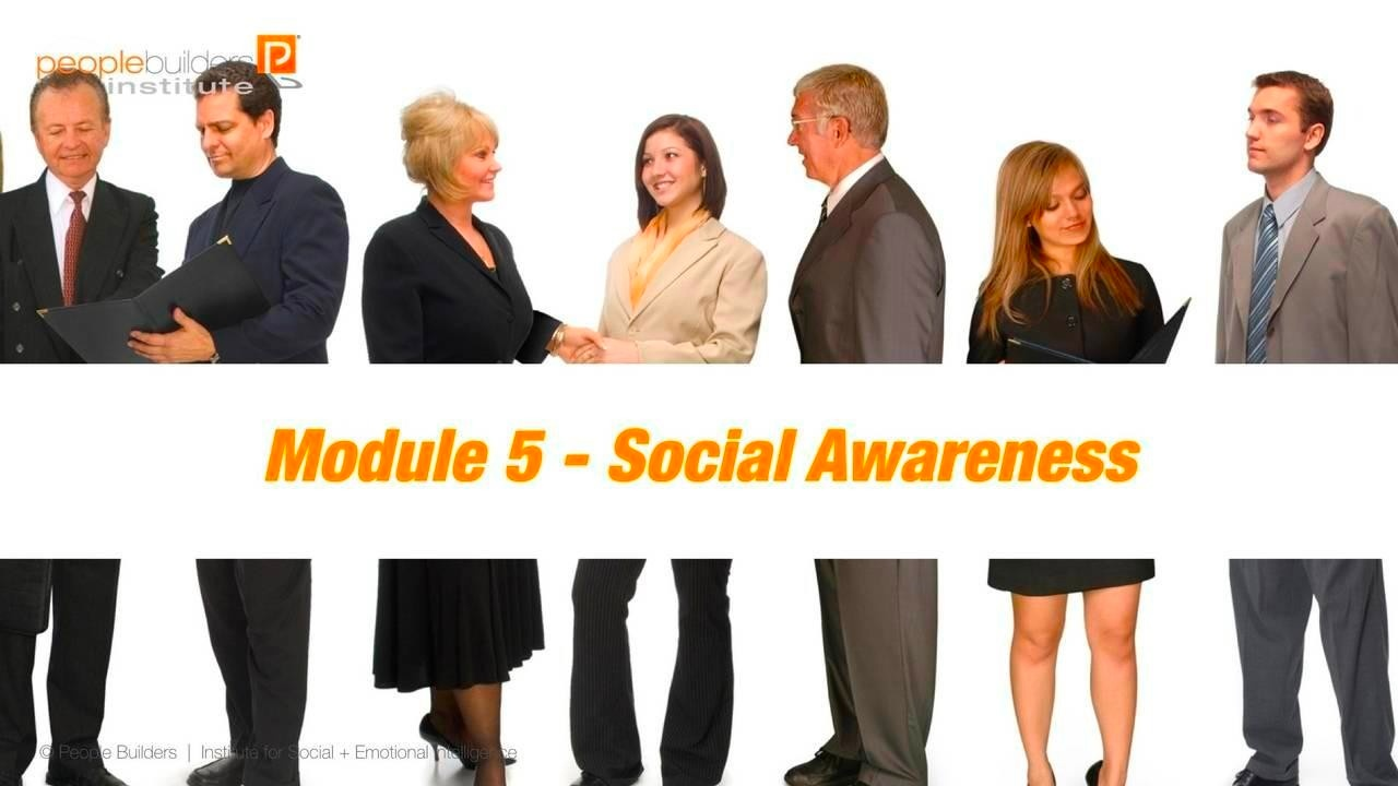 Module 5 Social and Emotional Intelligence Certification
