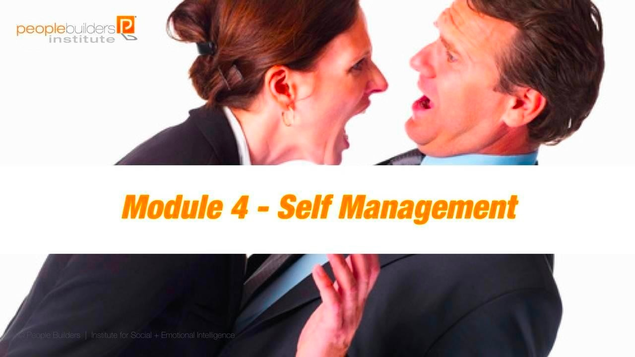 Module 4 Social and Emotional Intelligence Certification