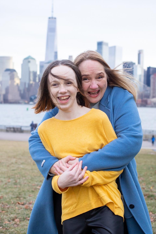Founder Gabi Hegan with daughter Lily