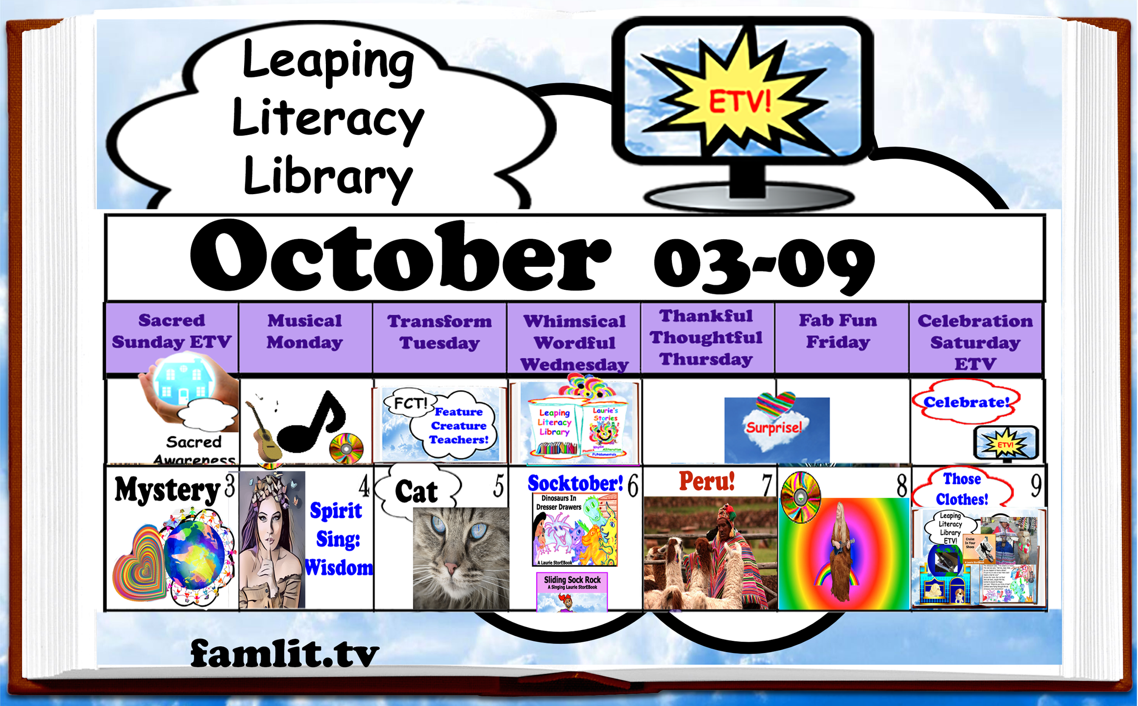 Leaping Literacy Library ETV!