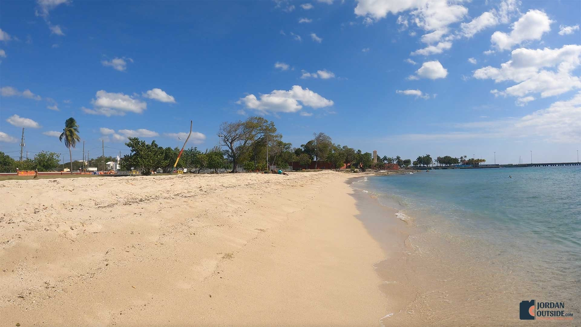 Frederiksted Beach in St. Croix