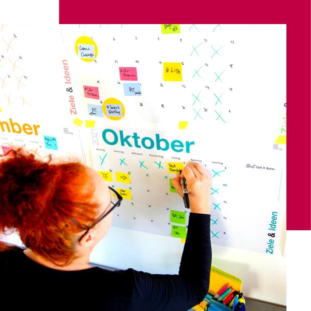 #GetItDone Wandkalender Barbara Valenti