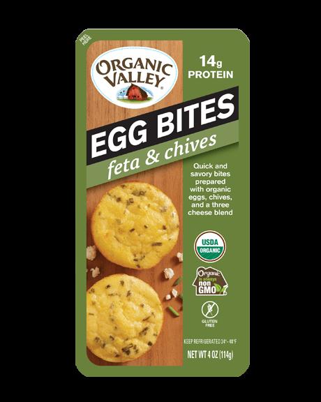 Organic Valley Feta & Chives Egg Bites