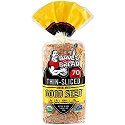 Dave's Killer Bread thinly sliced