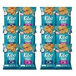 100-calorie kibo lentil chips
