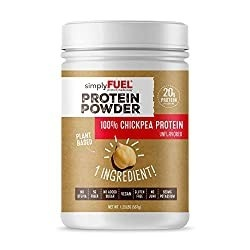 simplyFUEL Plant Based Protein Powder | Chickpea Protein