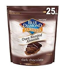 100-calorie dark chocolate nuts