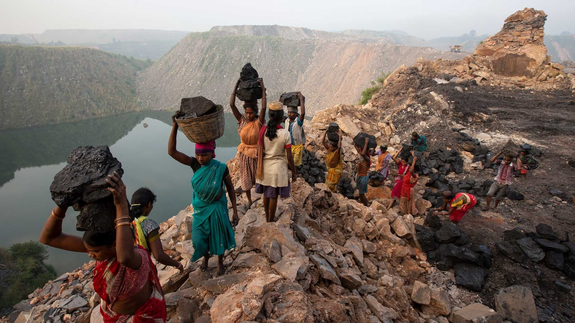 Artisanal miners in India