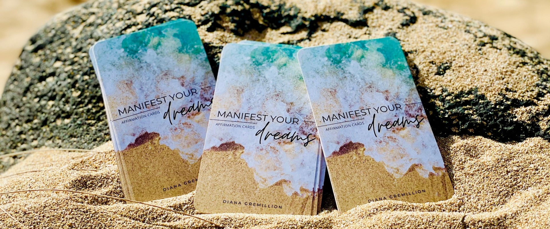 Manifest Your Dreams Affirmation Manifestation Cards