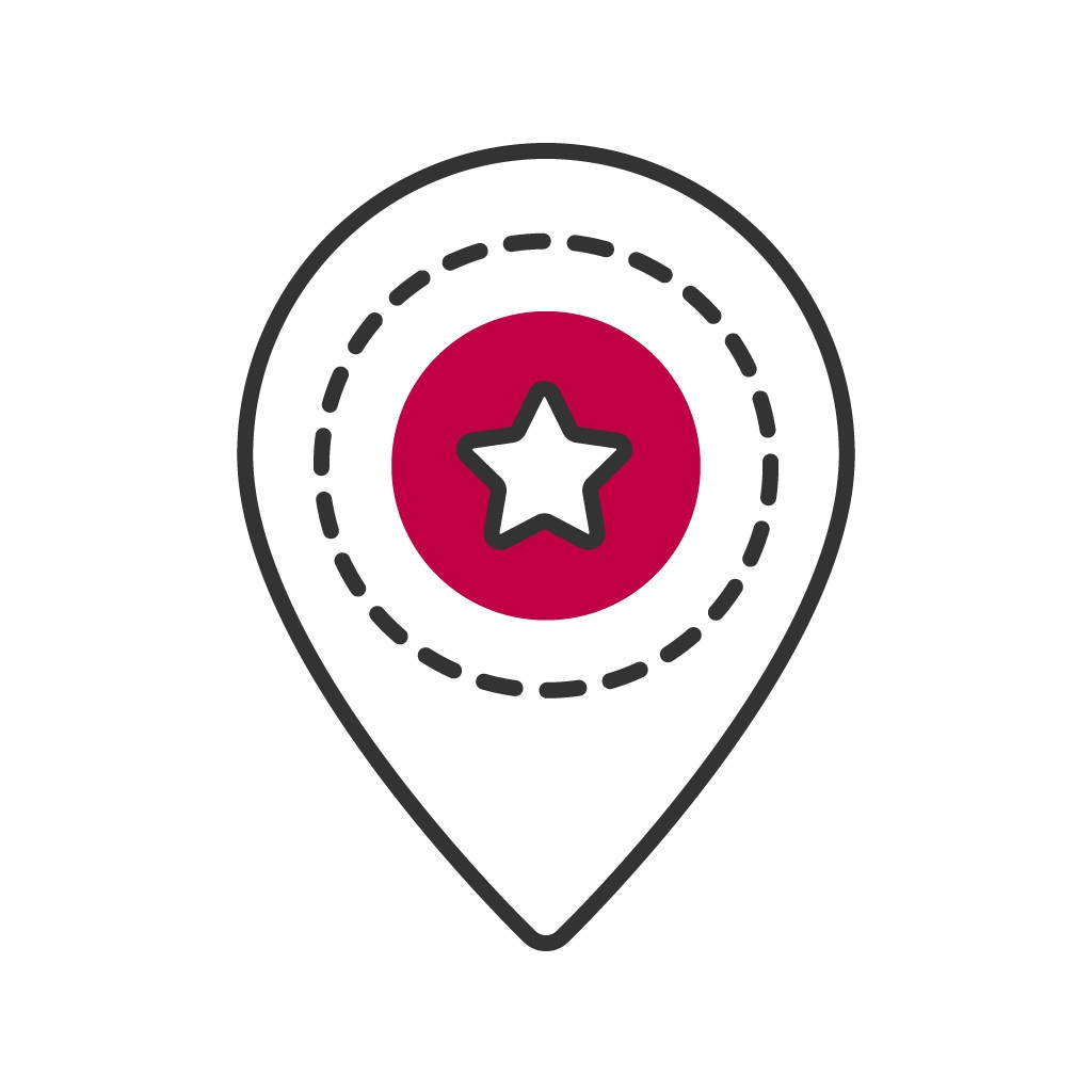 Standort Icon