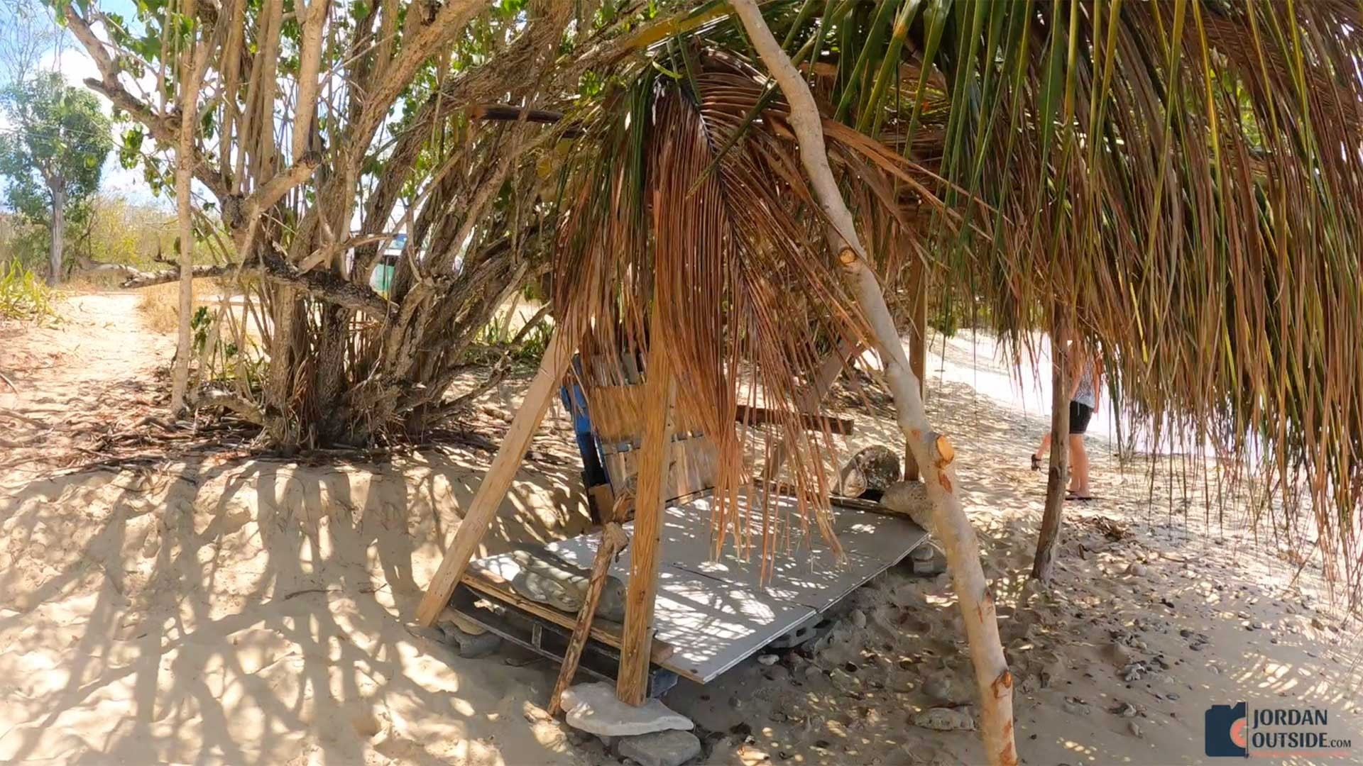 Hut on Sprat Hall Beach, St. Croix