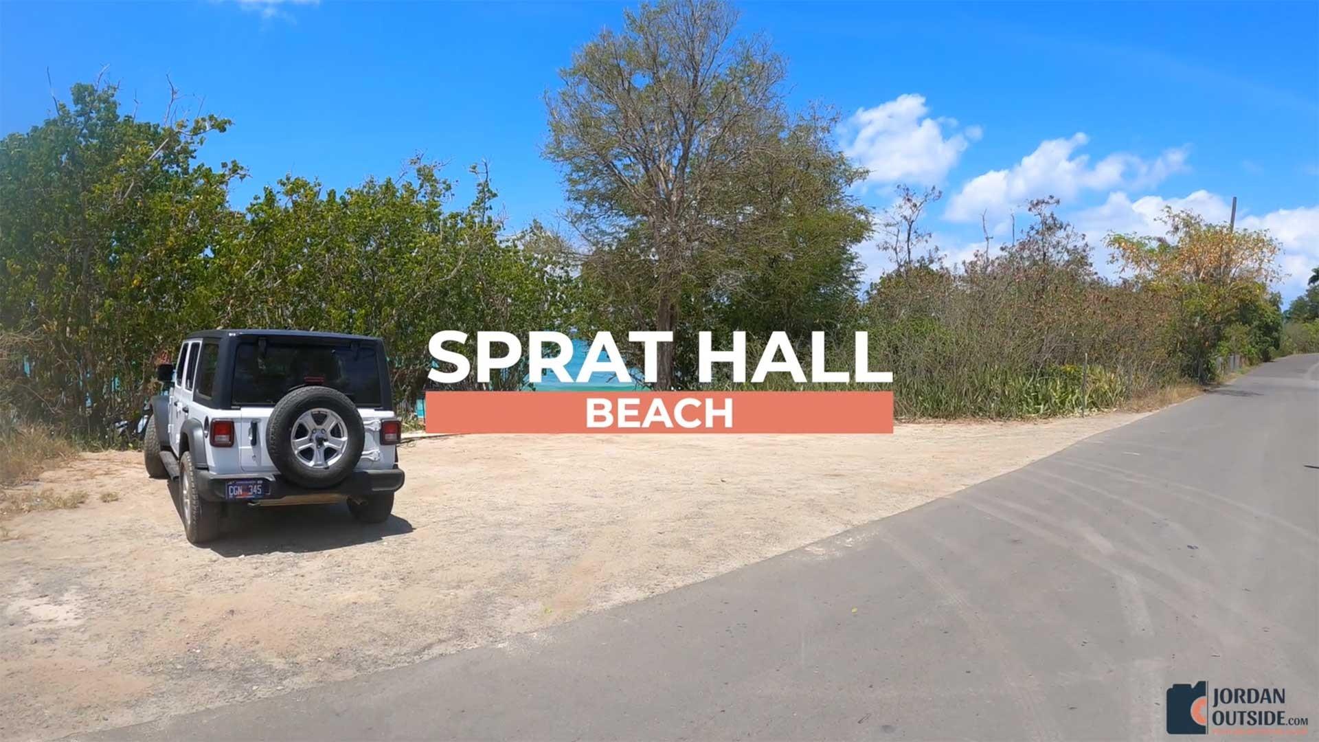 Sprat Hall Beach in St. Croix