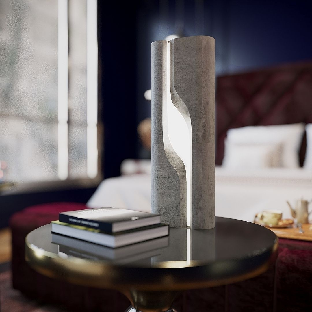 Produt Design| Architecture | Rapid Prototyping | Foundations | Design | MNLTH Monolith Night Stand Light by FRM Studio