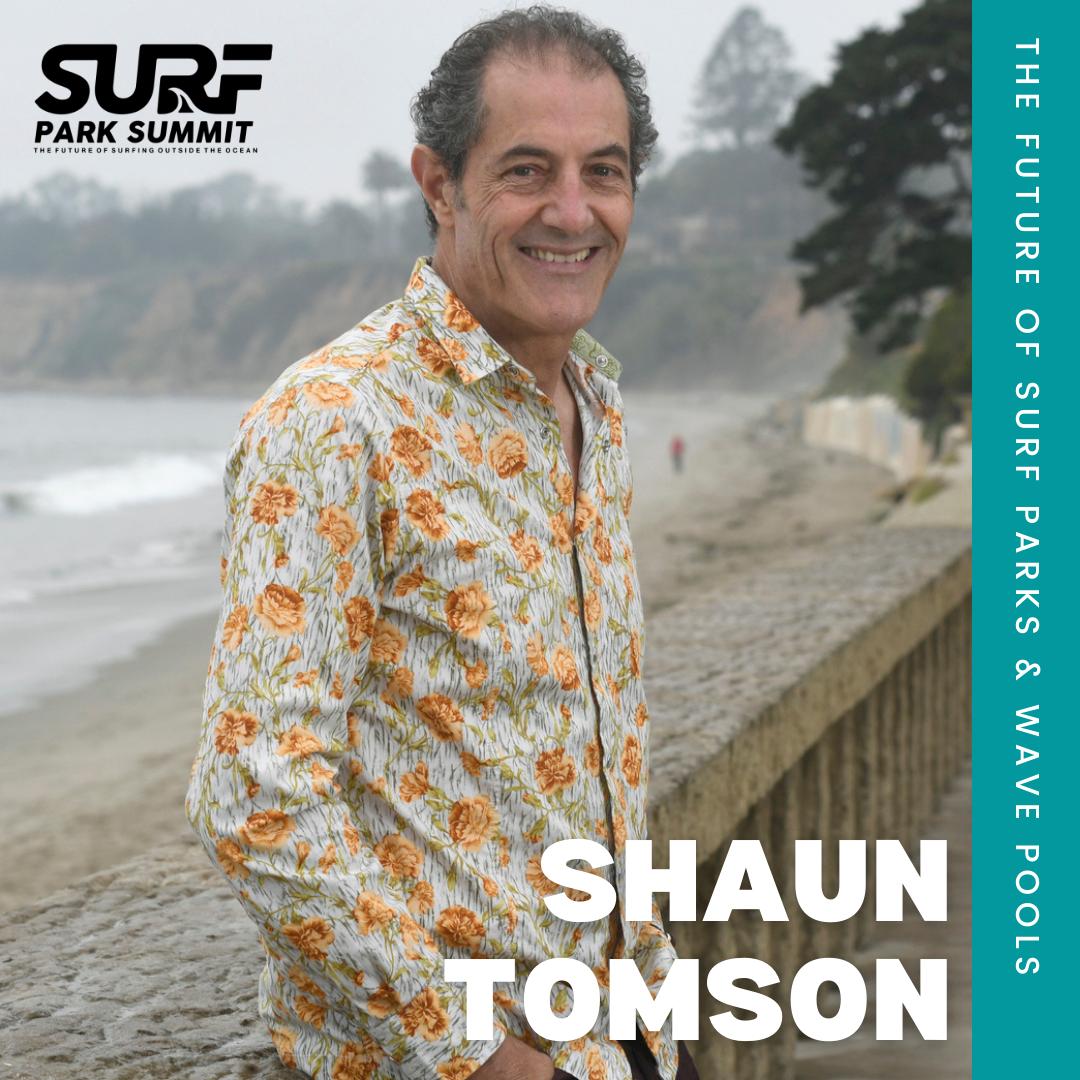 Shaun Tomson Surf Park Summit